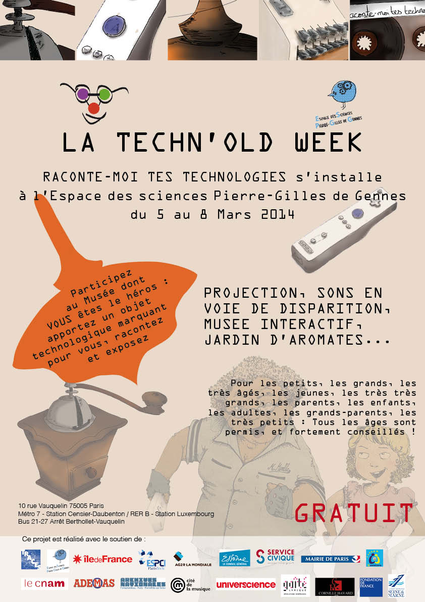 Affiche Techn Old Week