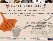 Atelier intergénérationnel Invitation Techn'Old Week